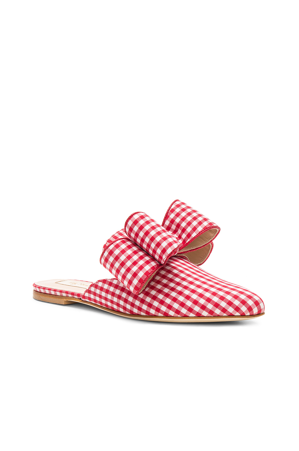 Polly Plume Betty Bow Joe Le Taxi Slide in Red