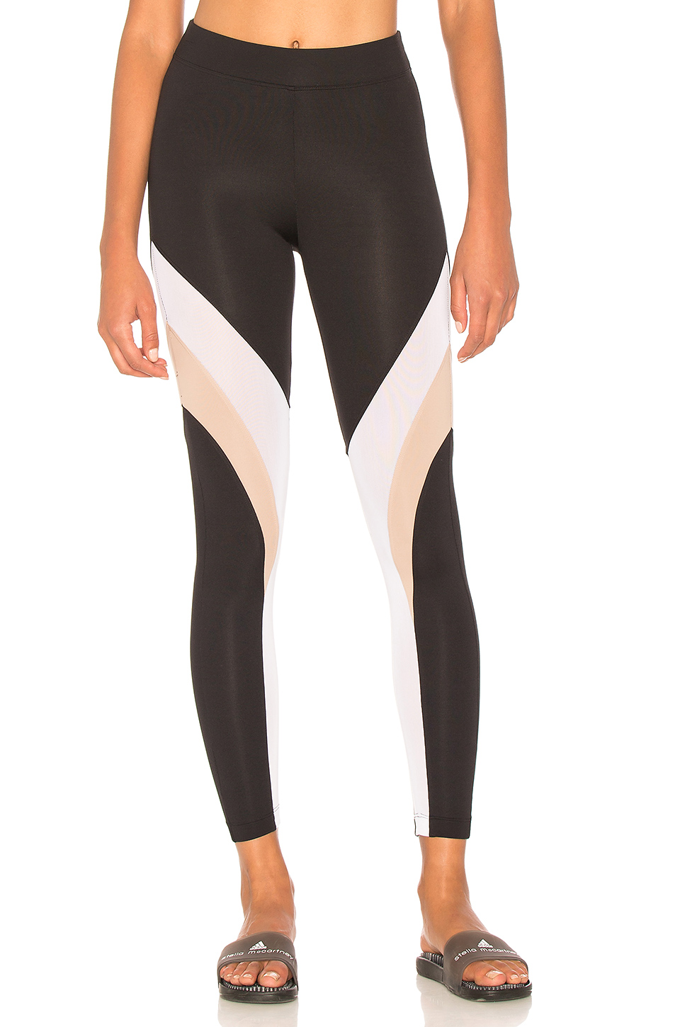 KORAL Frame Legging in Black & Bisque