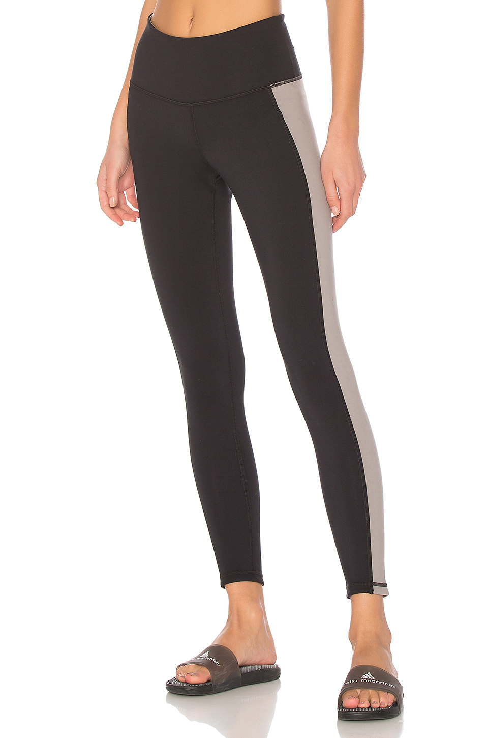 lukka lux Flip Side Reversible Legging in Grey & Black Onyx
