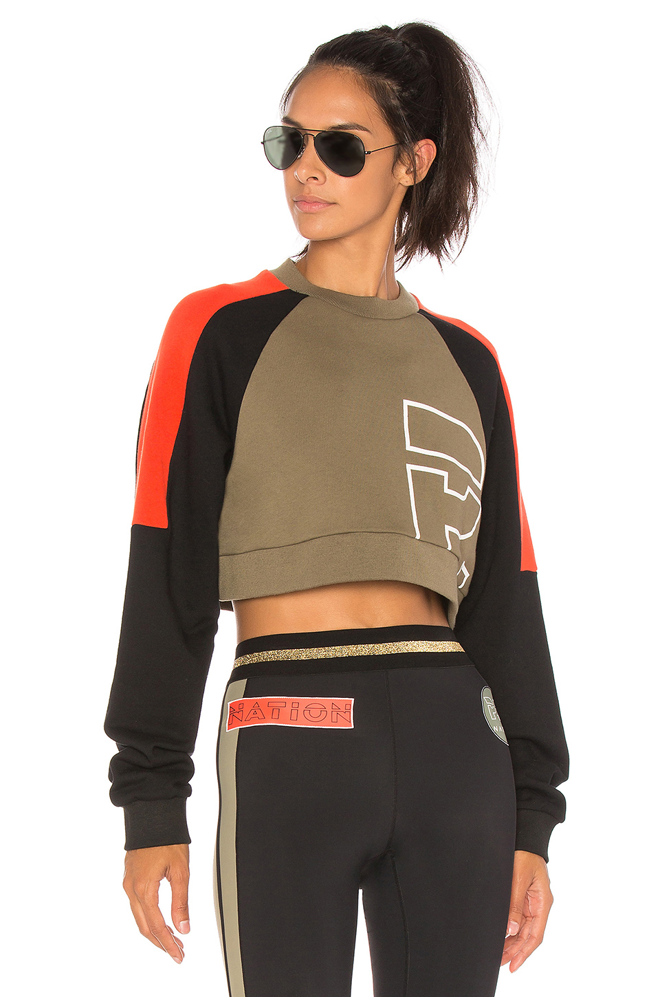 P.E Nation All Rounder Sweatshirt in Multi