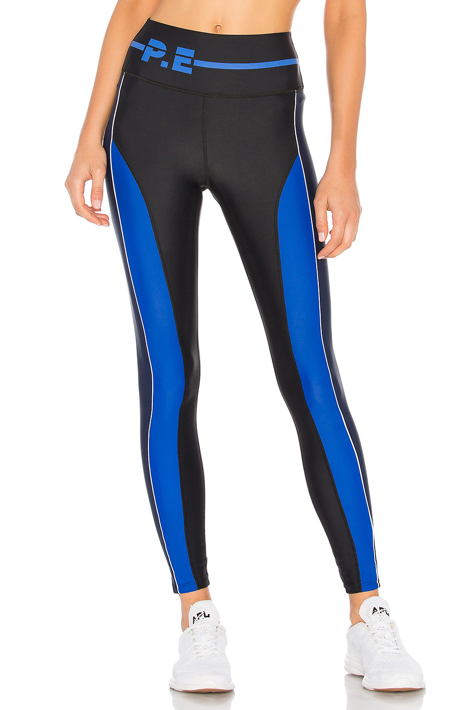 P.E Nation The Delta High Waist Legging in Black