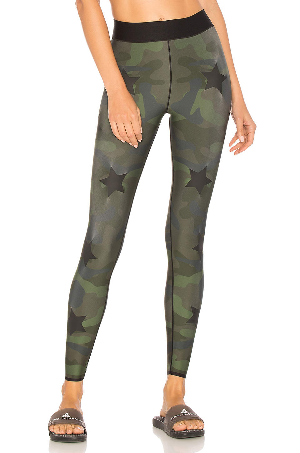 ultracor Ultra Silk Knockout Legging in Army Green Matte
