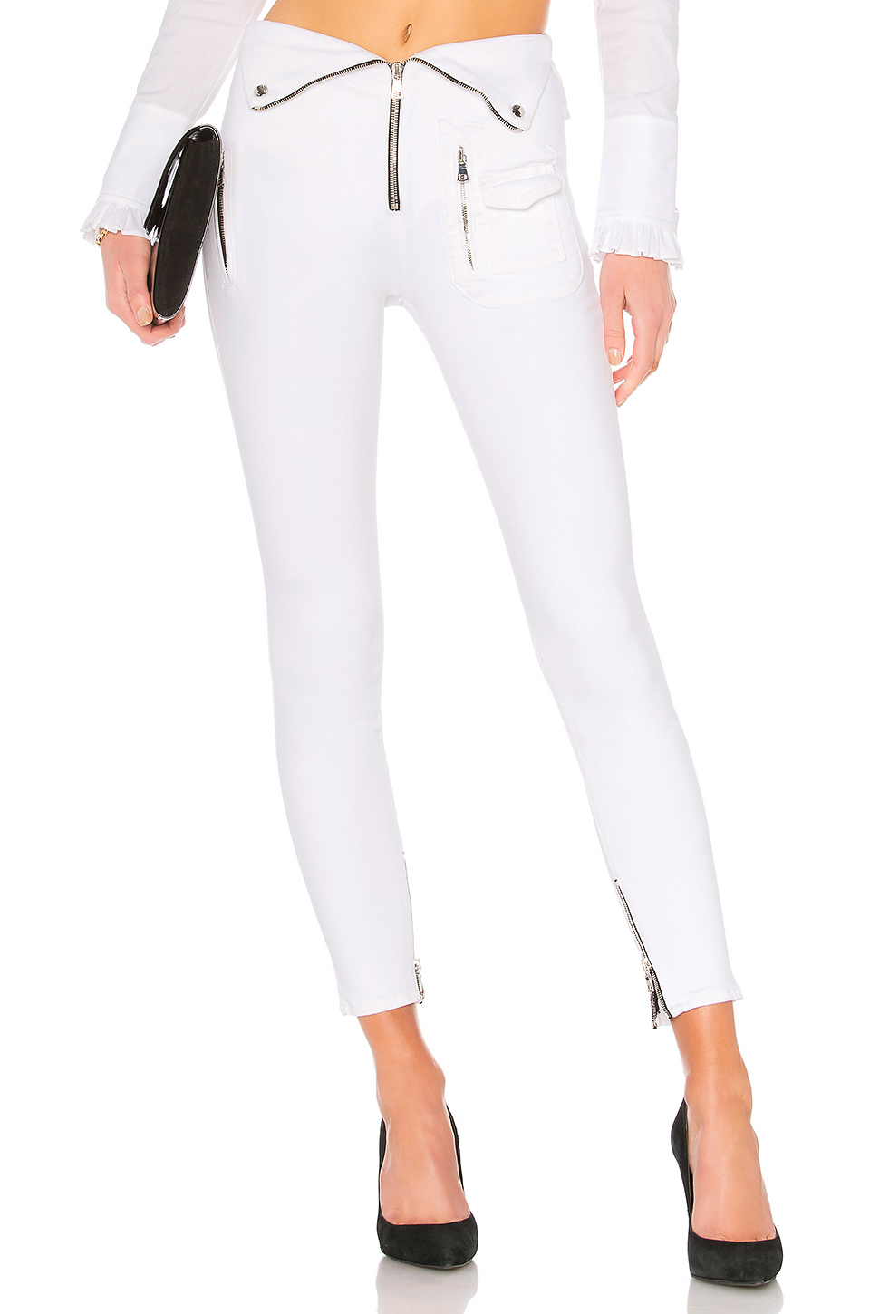 RtA x Diavolina Pant in Pure White