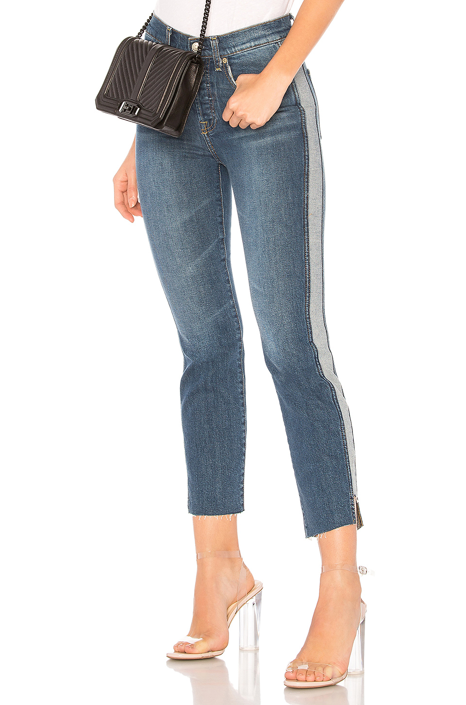7 For All Mankind Edie Jean in Mojave Dusk