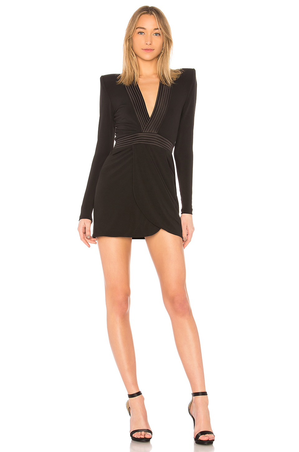 Zhivago Eye of Horus Mini Dress in Black