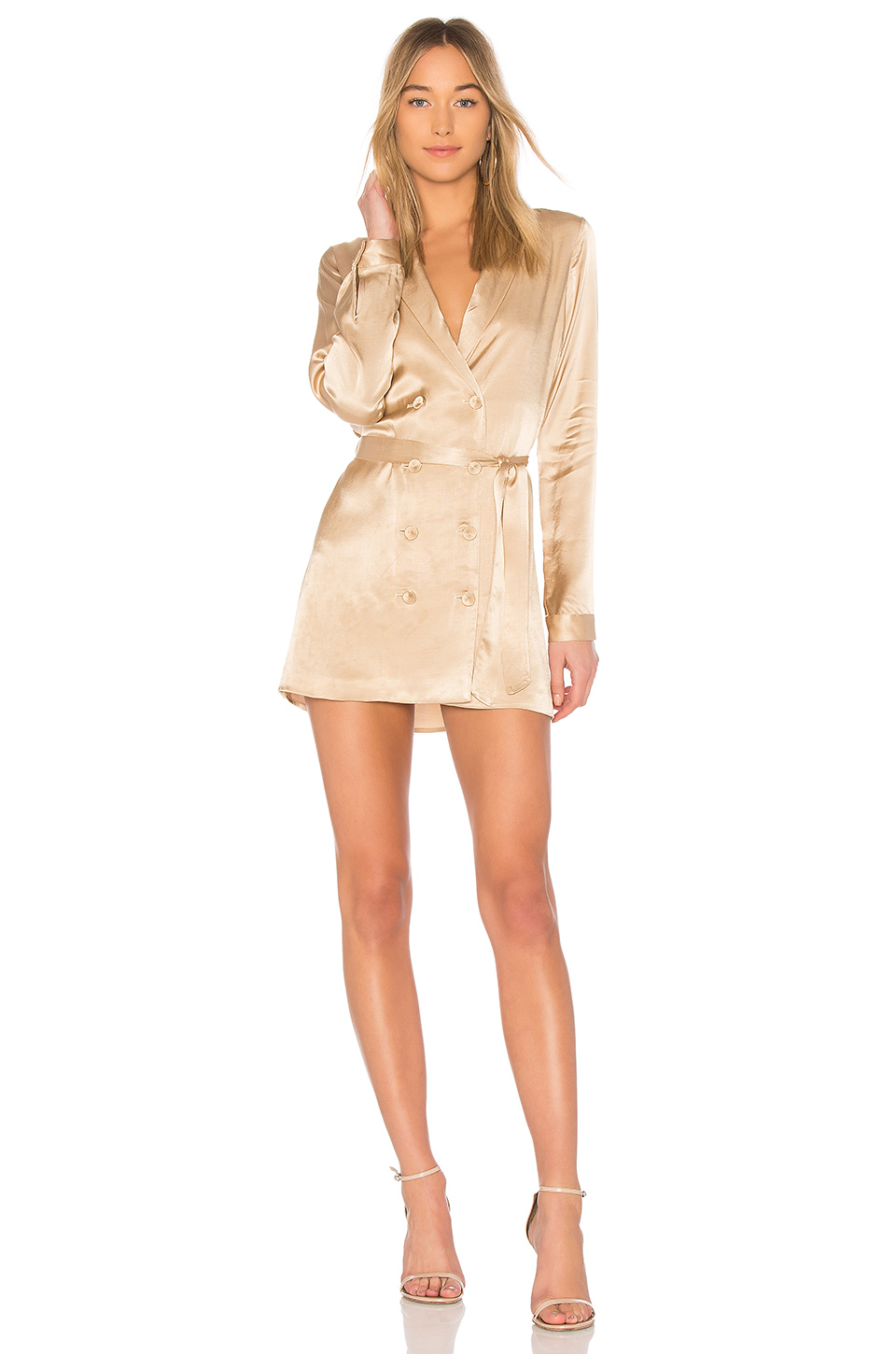 L'Academie The Sophie Dress in Champagne