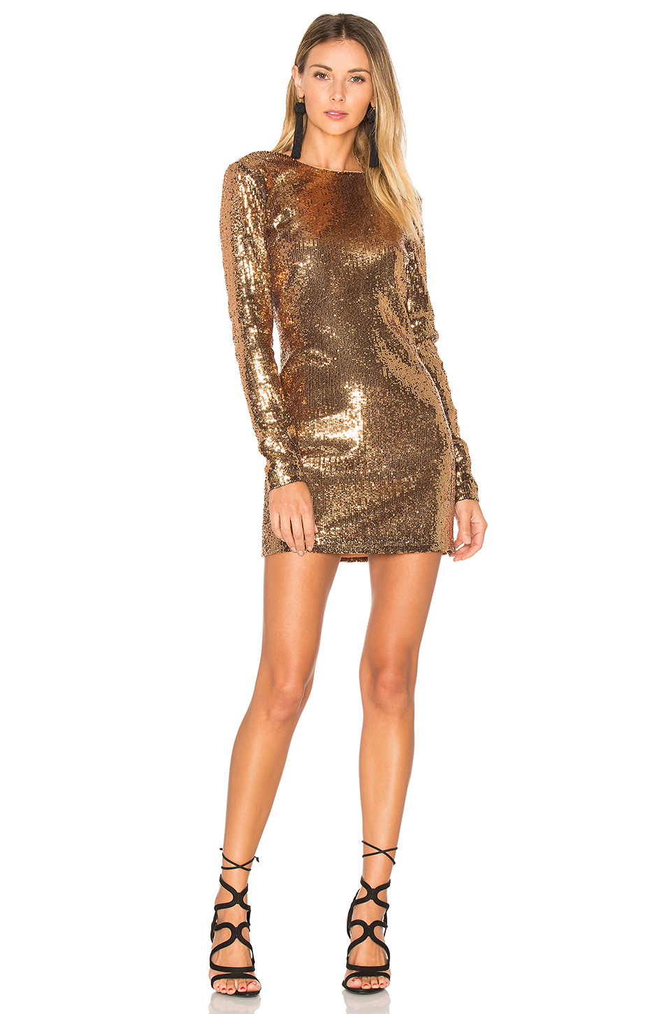 ale by alessandra x Julinha Dress in Bronze