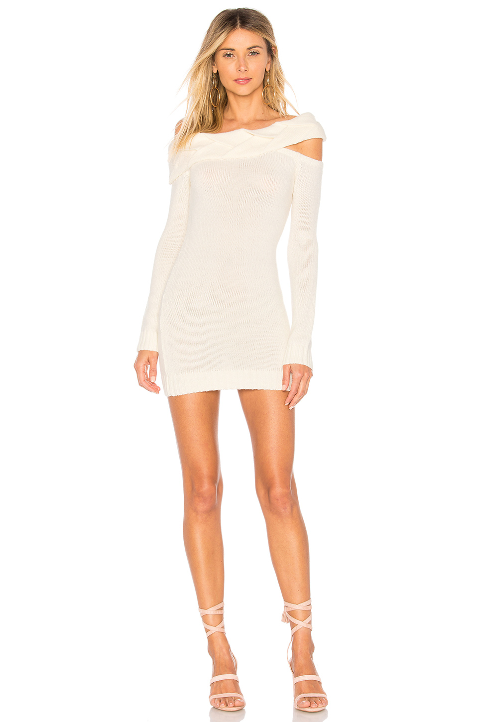 ale by alessandra x Lupita Dress in White