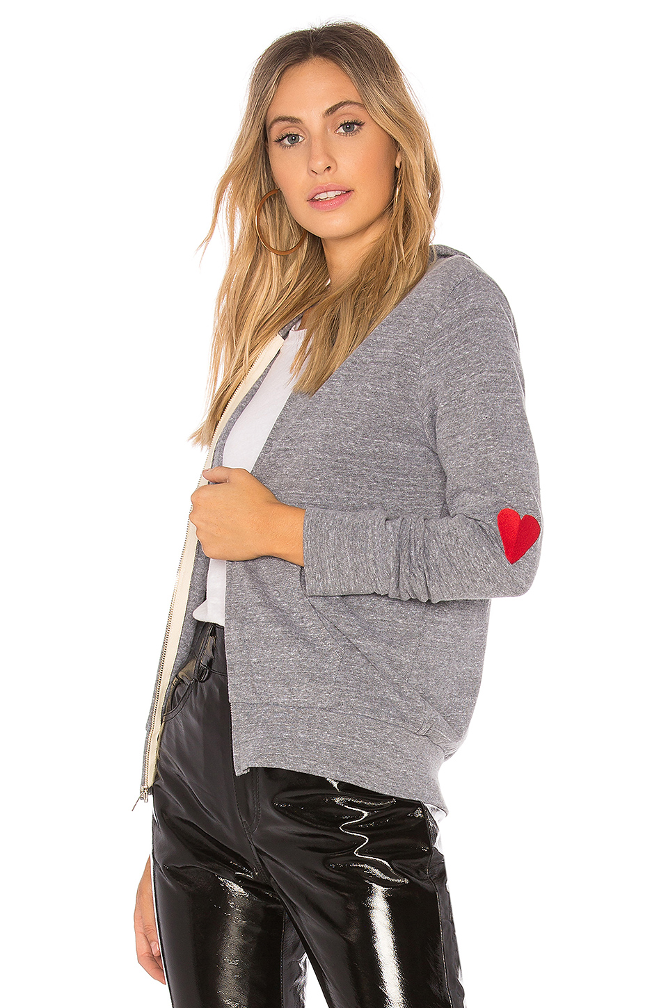 MONROW Love Hoodie in Dark Heather