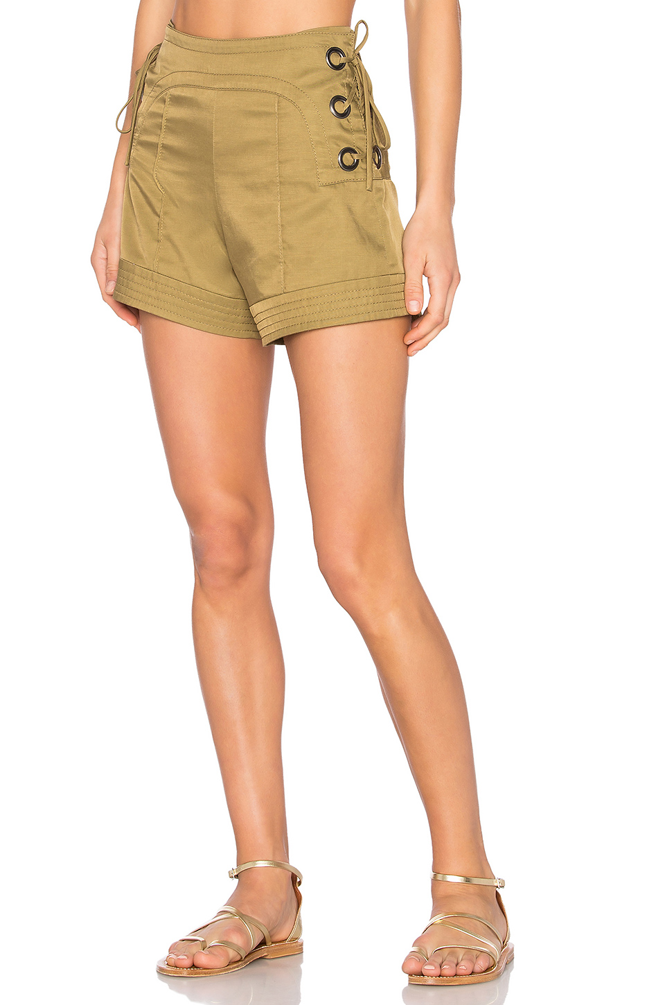 Marissa Webb Marie Shorts in Olive
