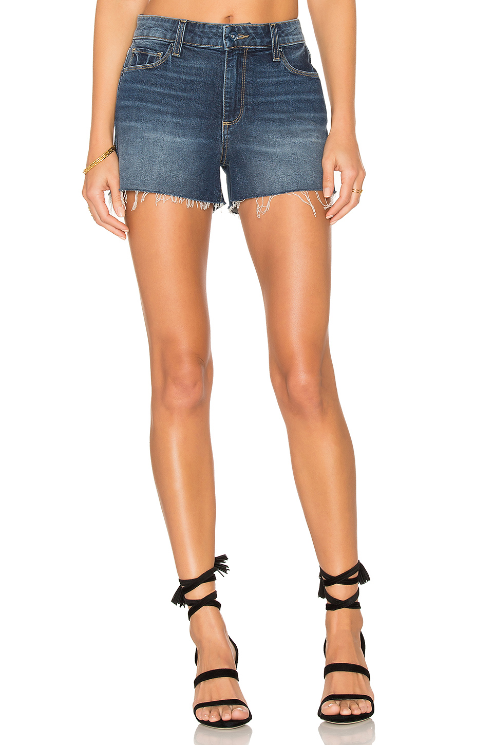 PAIGE Denim Margot Short in Domino