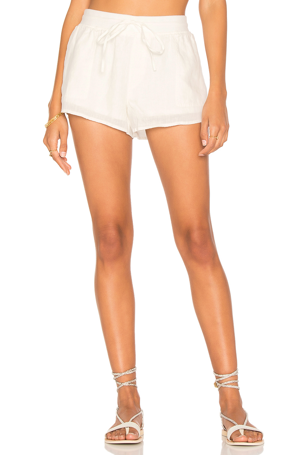 Soft Joie Barrick Short in Porcelain