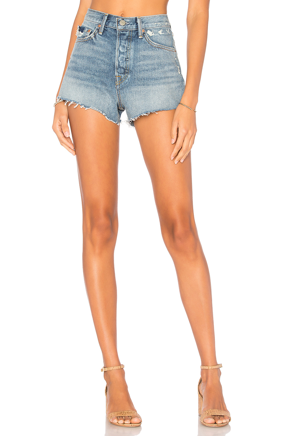 GRLFRND Helena High-Rise Short in McCartney