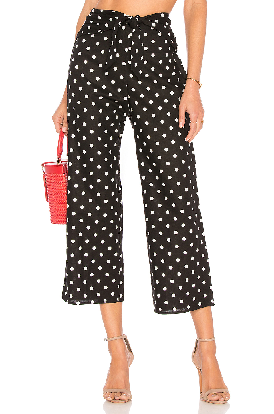 Privacy Please Nolana Pant in Black Dot