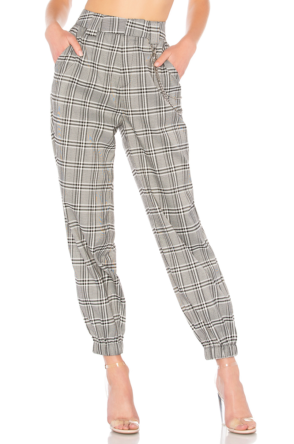 I.AM.GIA Cobra Pant in Black Check