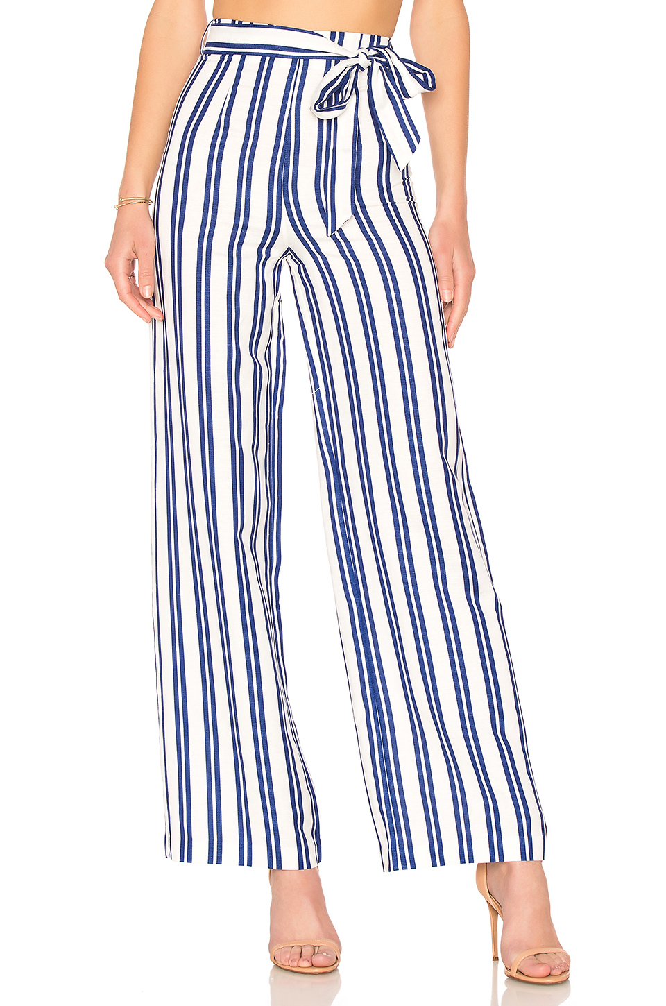 L'Academie The Lani Pant in Ocean Stripe