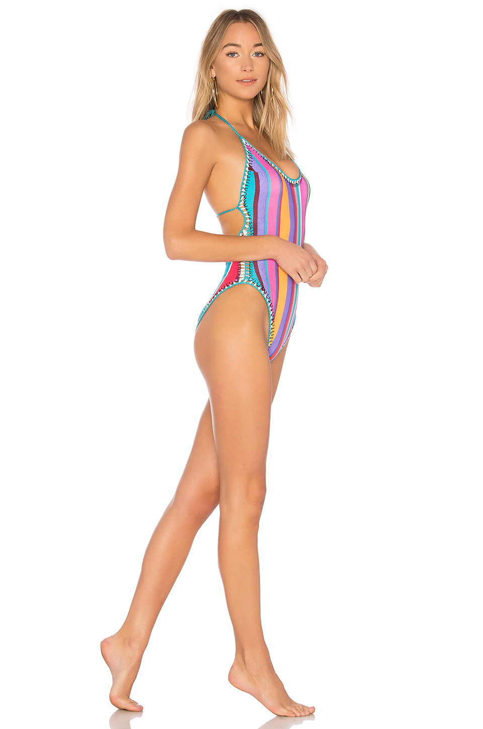 Nanette Lepore Goddess One Piece in Multi