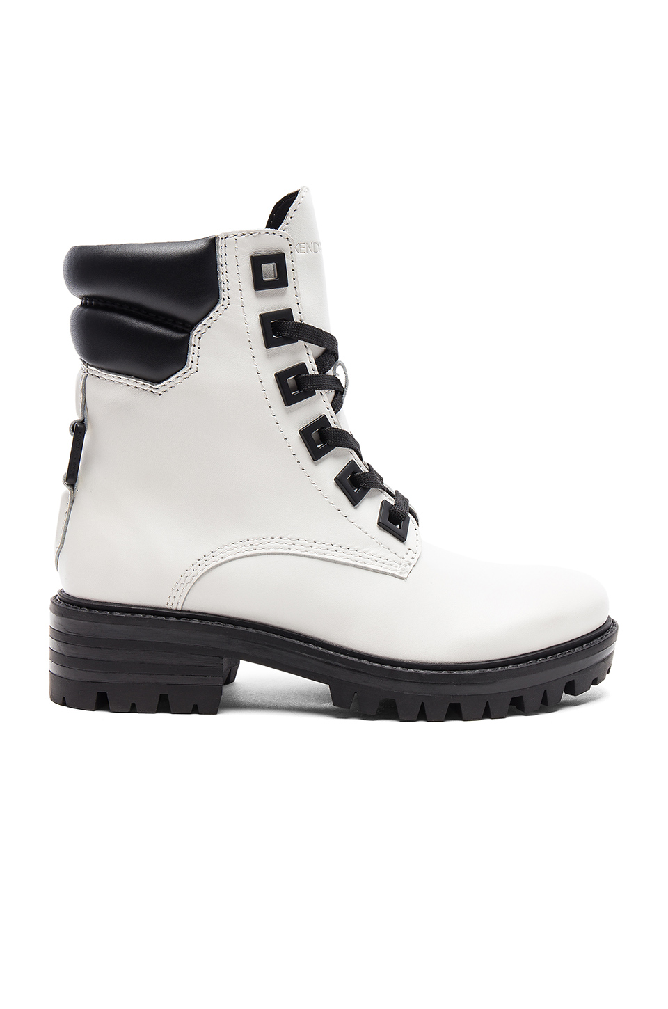 KENDALL + KYLIE East Boot in White