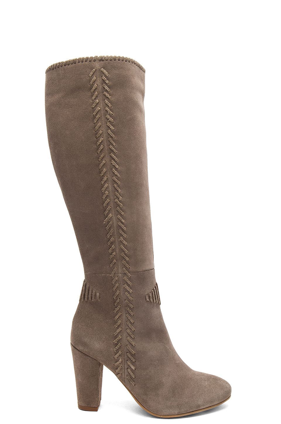 Seychelles Reserved Boot in Taupe Suede