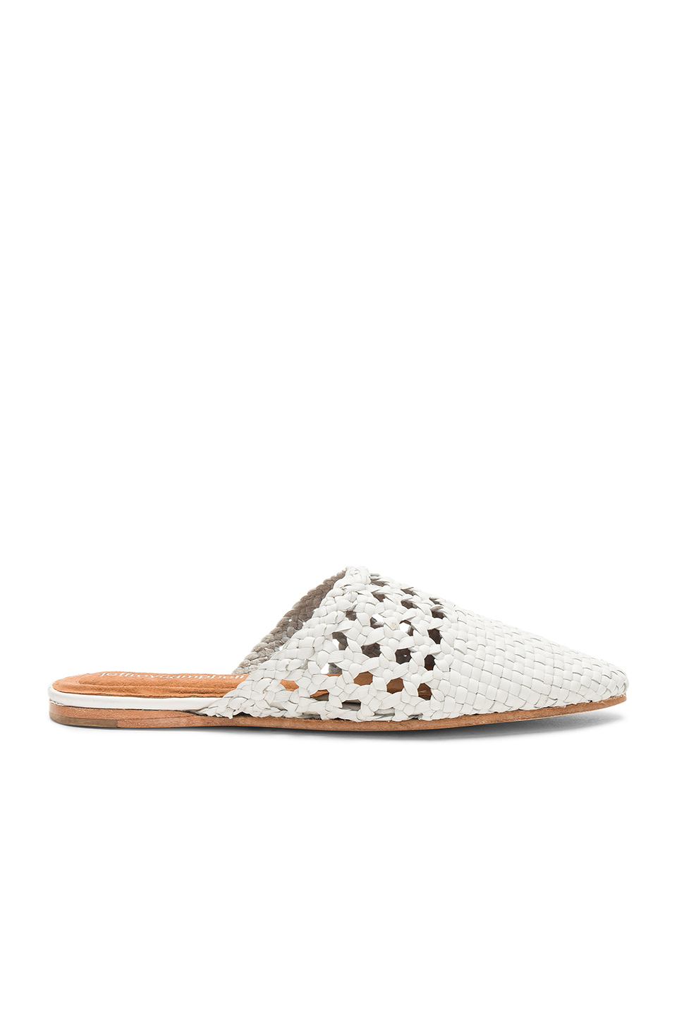 Jeffrey Campbell Atrata Flat in White