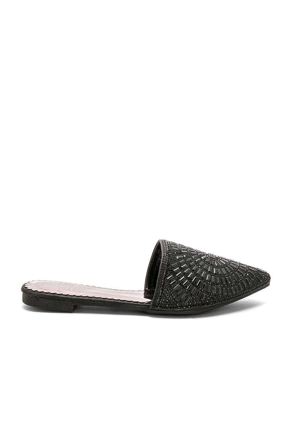by the way. Colette Slide in Black