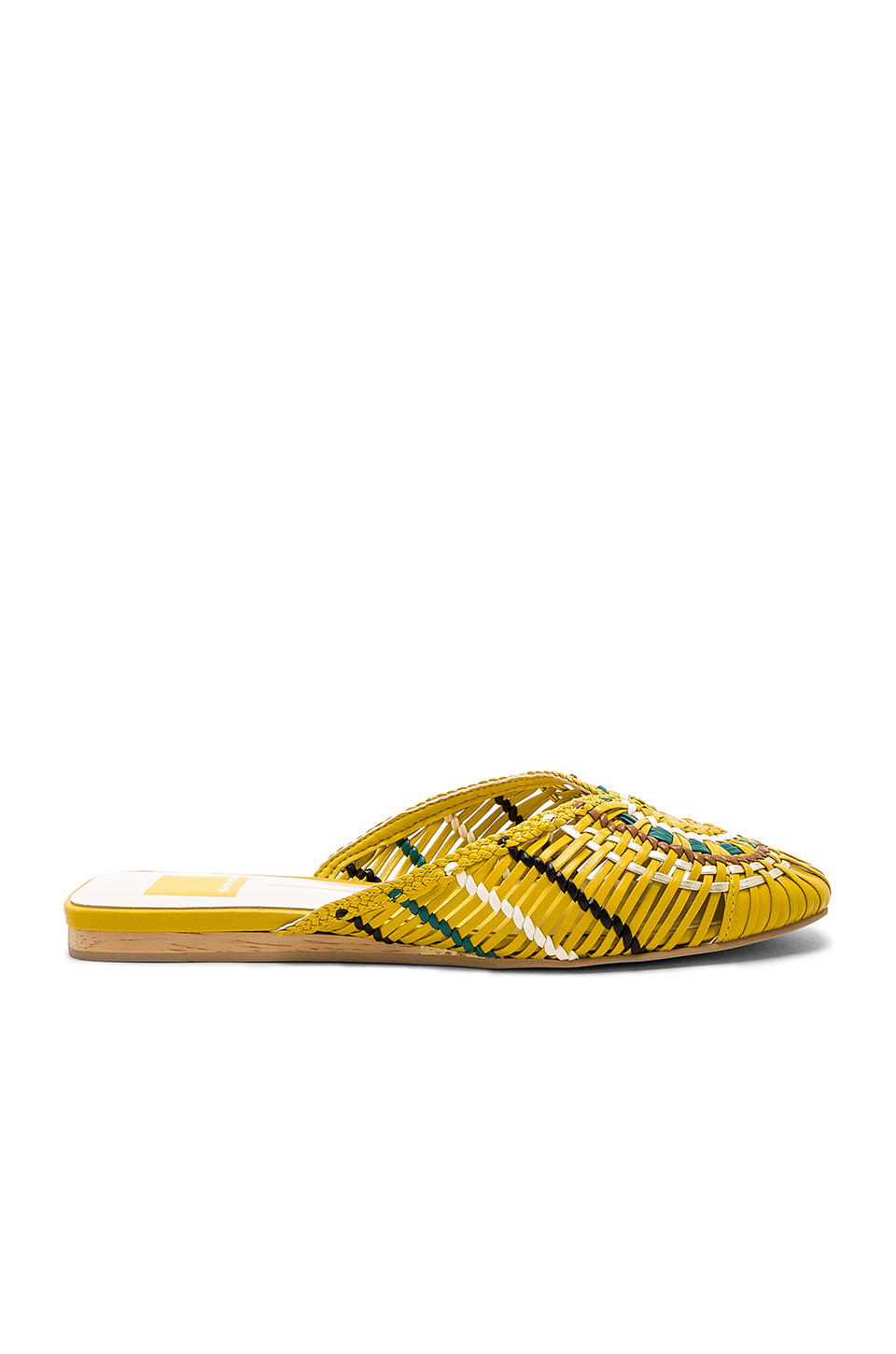 Dolce Vita Baez Slide in Yellow Multi