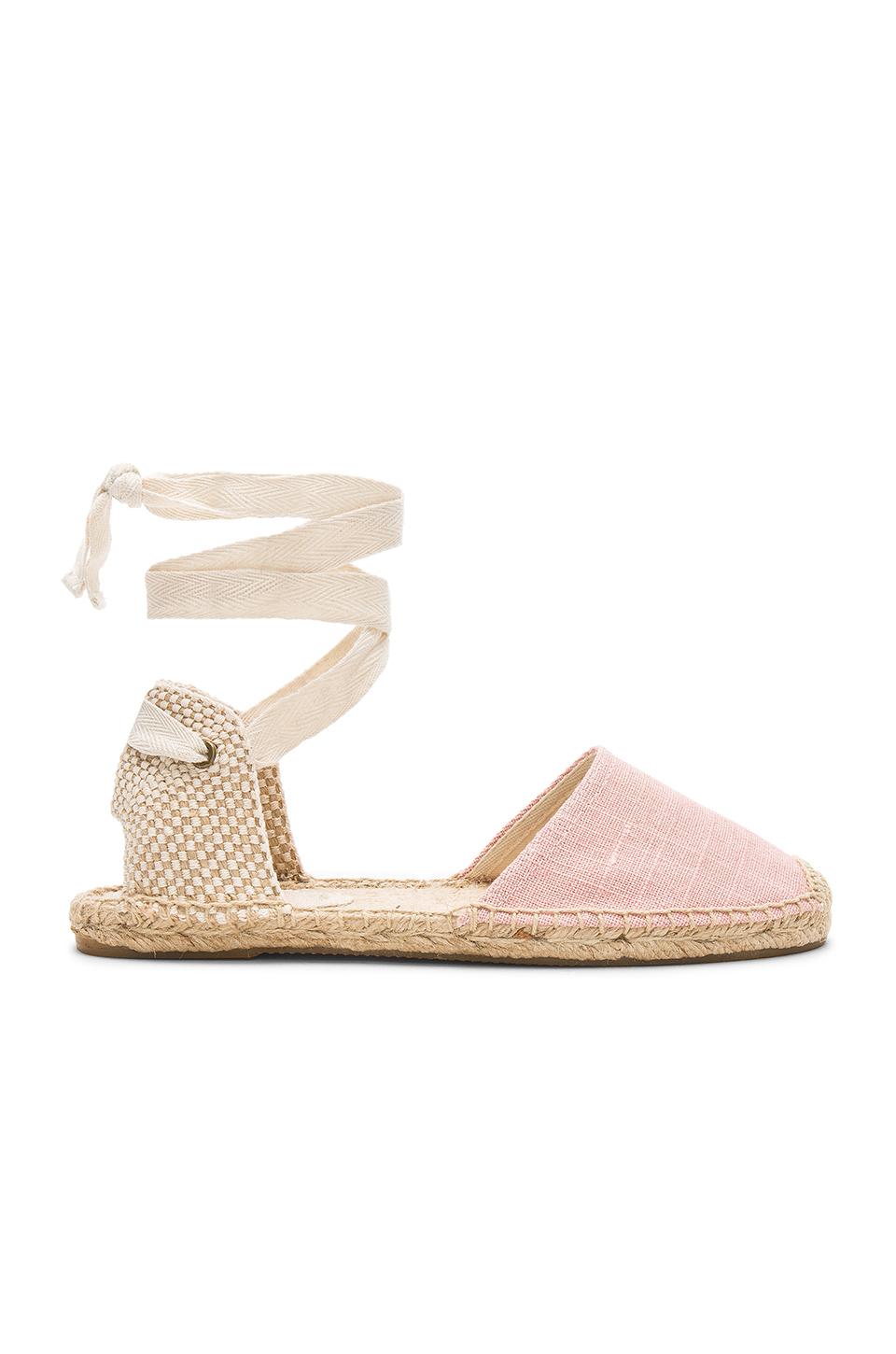 Soludos Classic Sandal in Dusty Rose