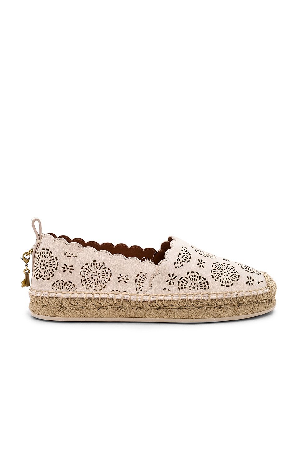 Coach 1941 Tea Rose Astor Espadrille in Chalk