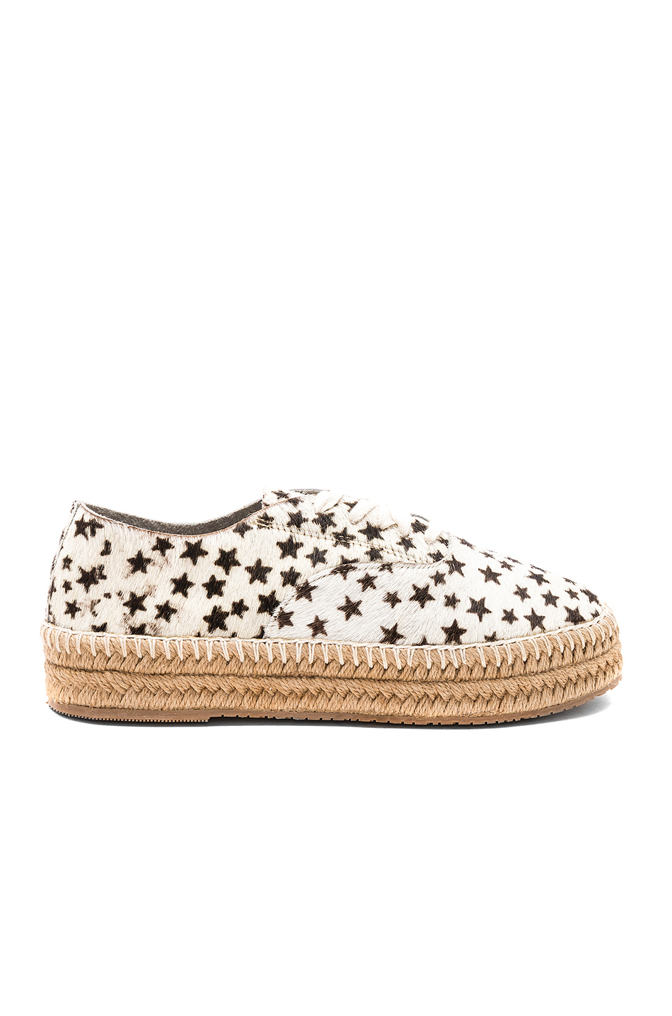 Kaanas Montauk Lace Up Espadrille in Stars