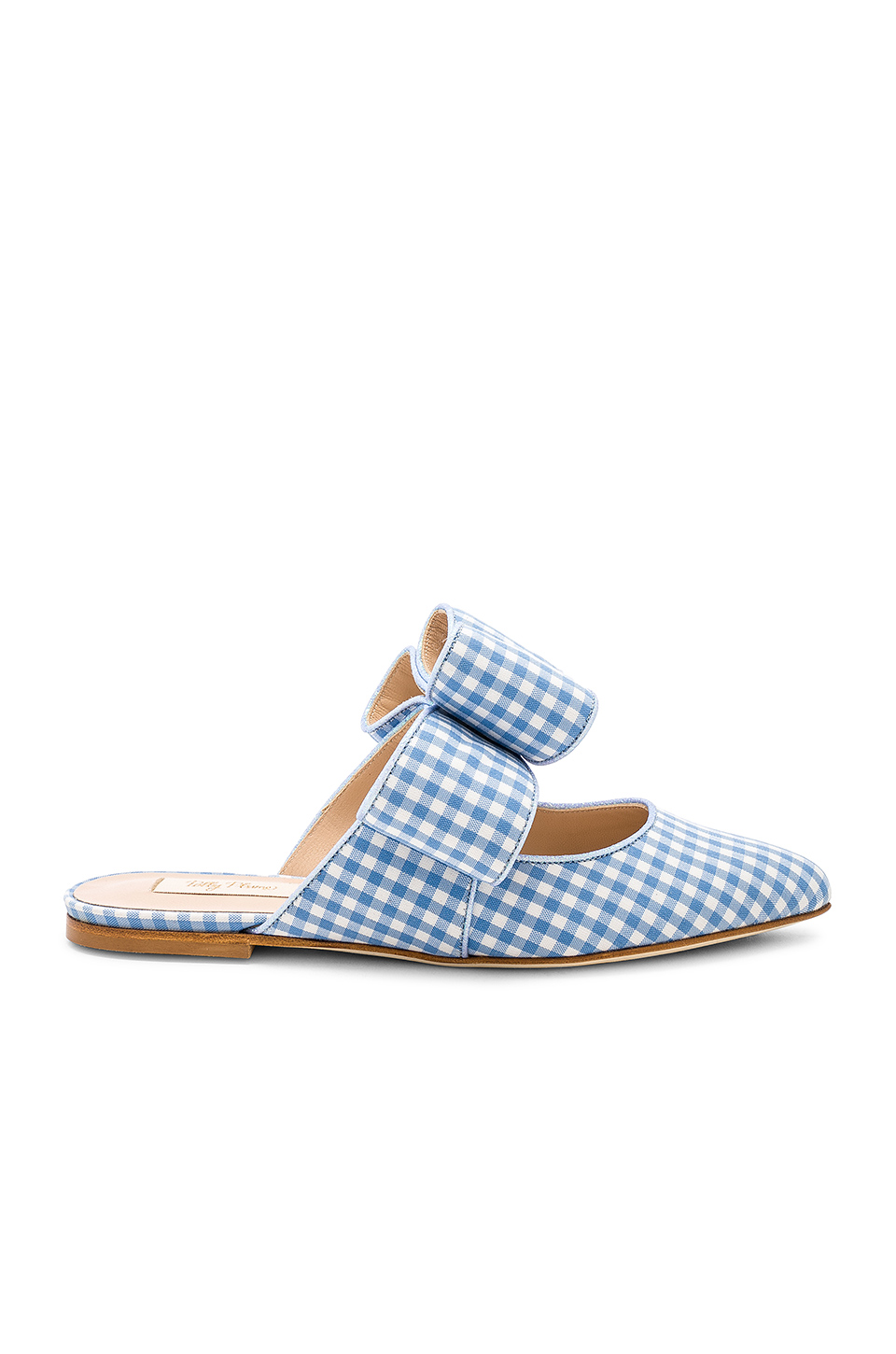 Polly Plume Kiki Bow Joe Le Taxi Slide in Baby Blue