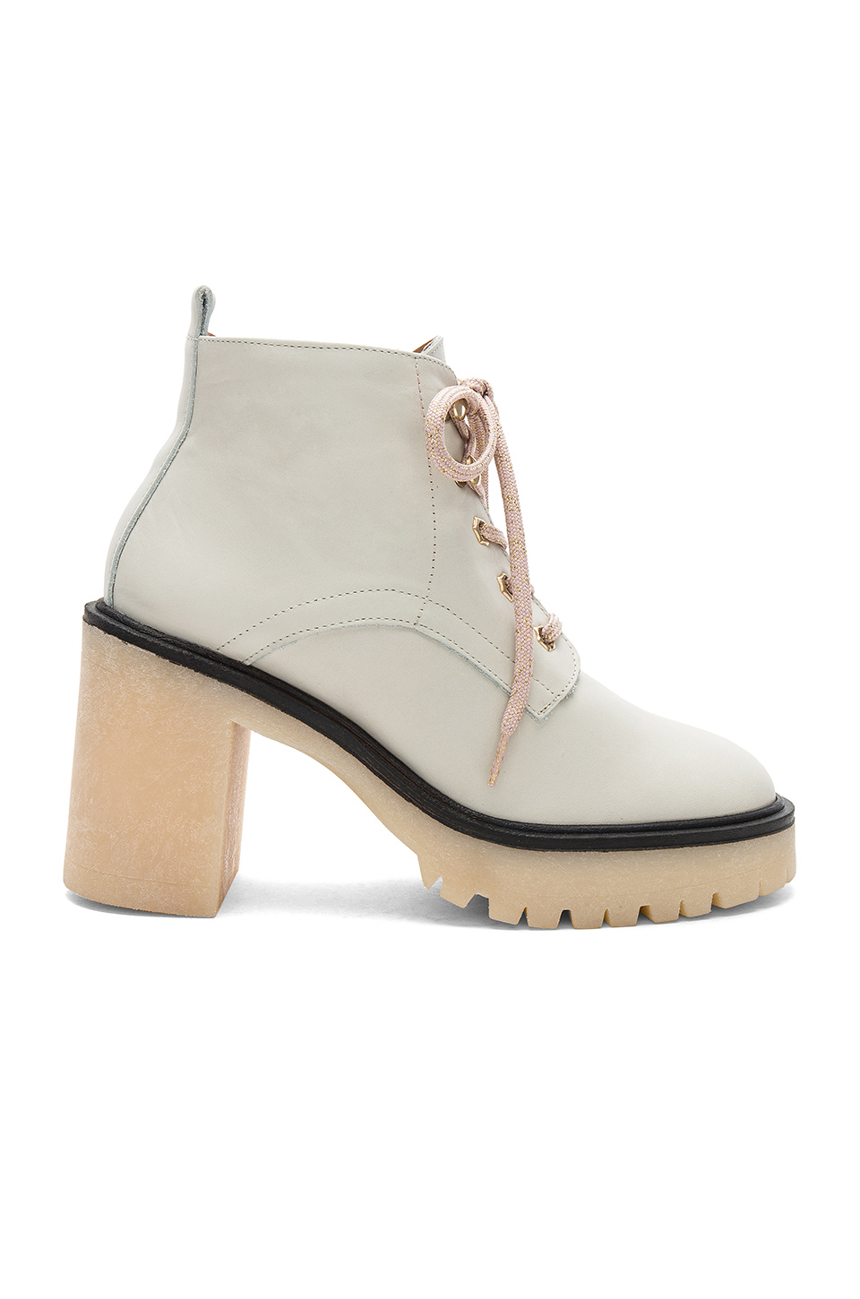 Free People Sydney Hiker Boot in White