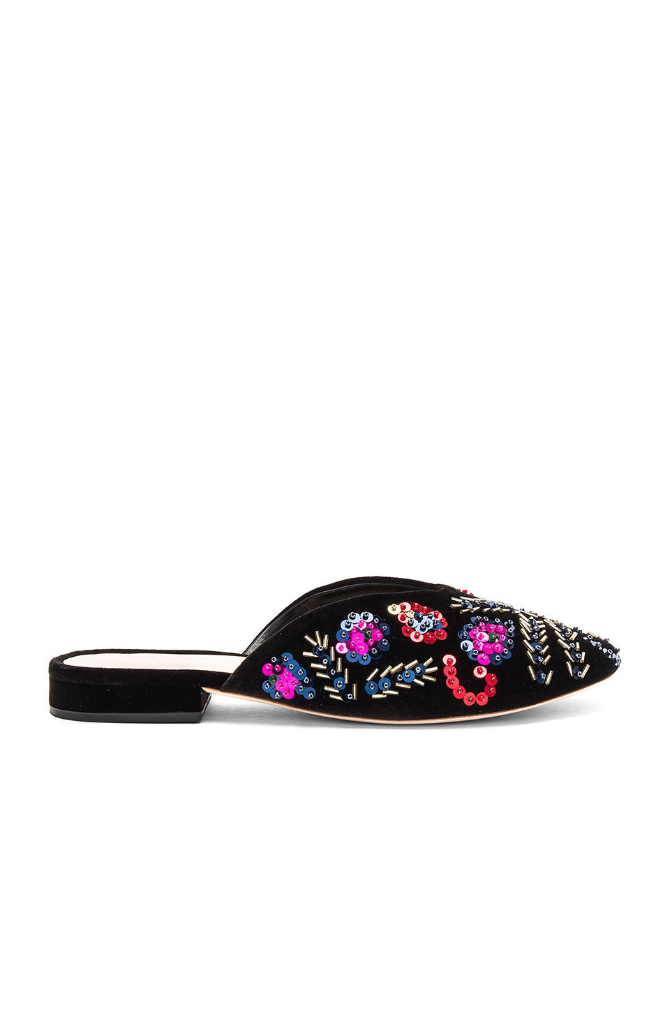 Loeffler Randall Quin Slide in Black & Multi