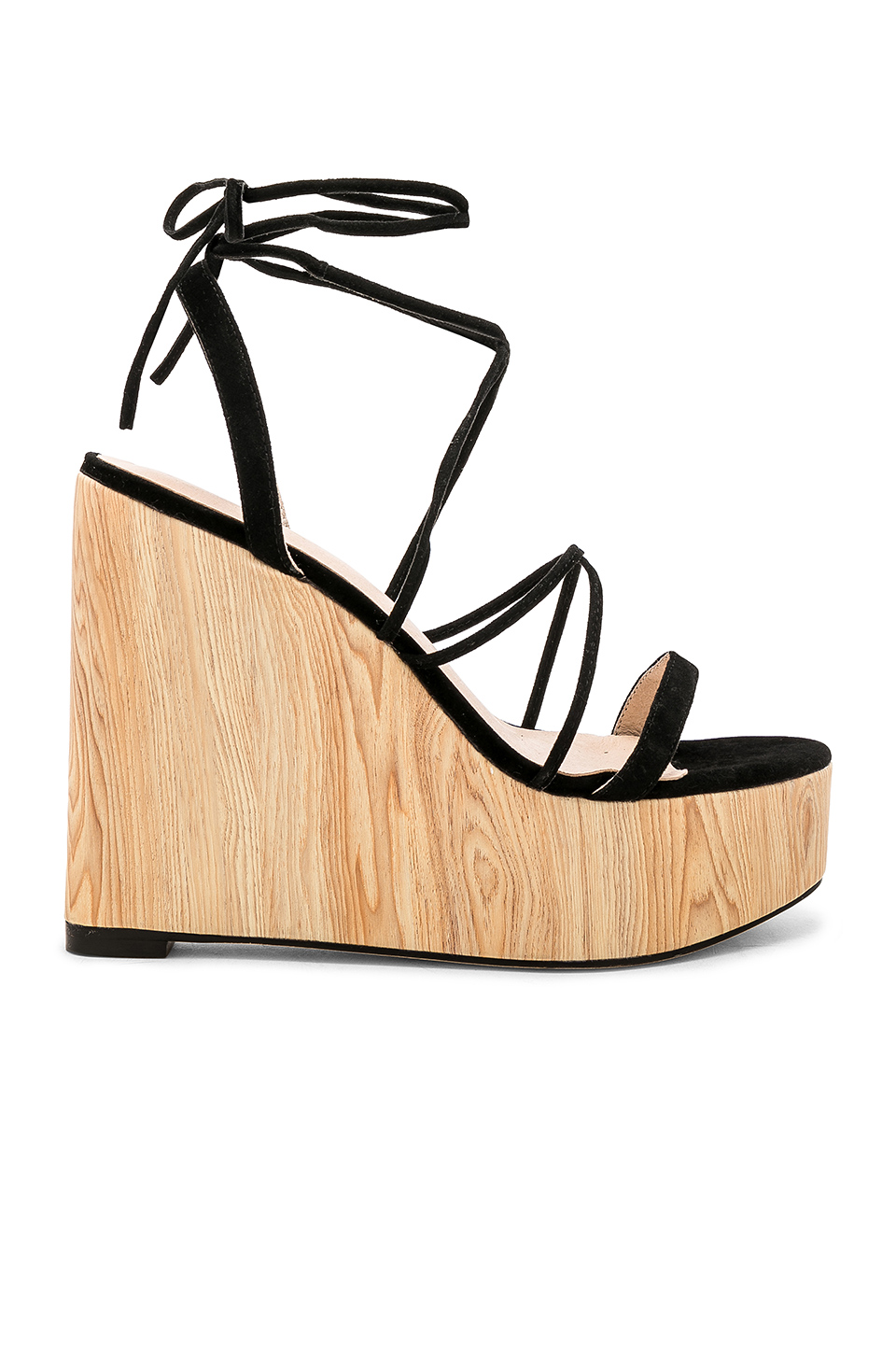 RAYE Wren Wedge in Black
