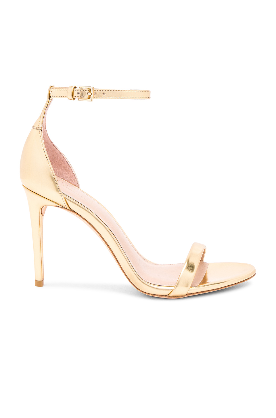 RACHEL ZOE Ema Metallic Heel in Gold