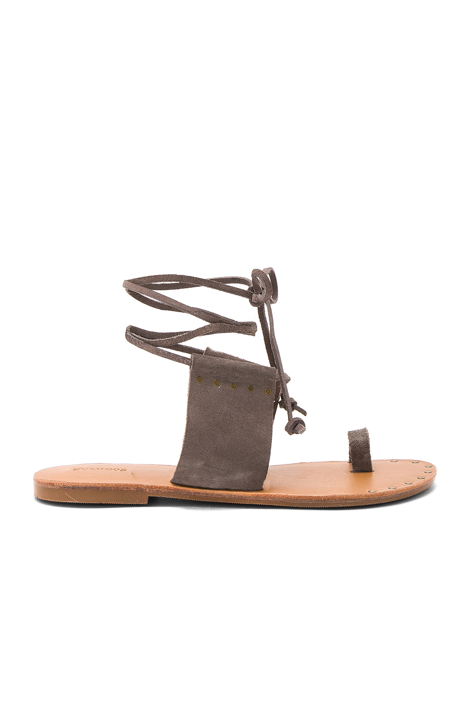 Soludos Milos Sandal in Dove Gray