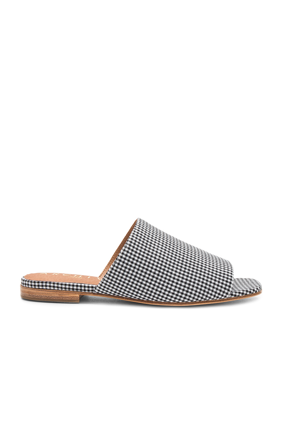 The Archive Beach Slide in Gingham