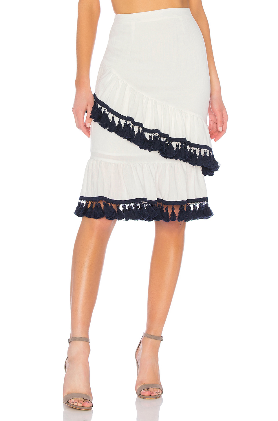 Suboo Frill Skirt in Playa