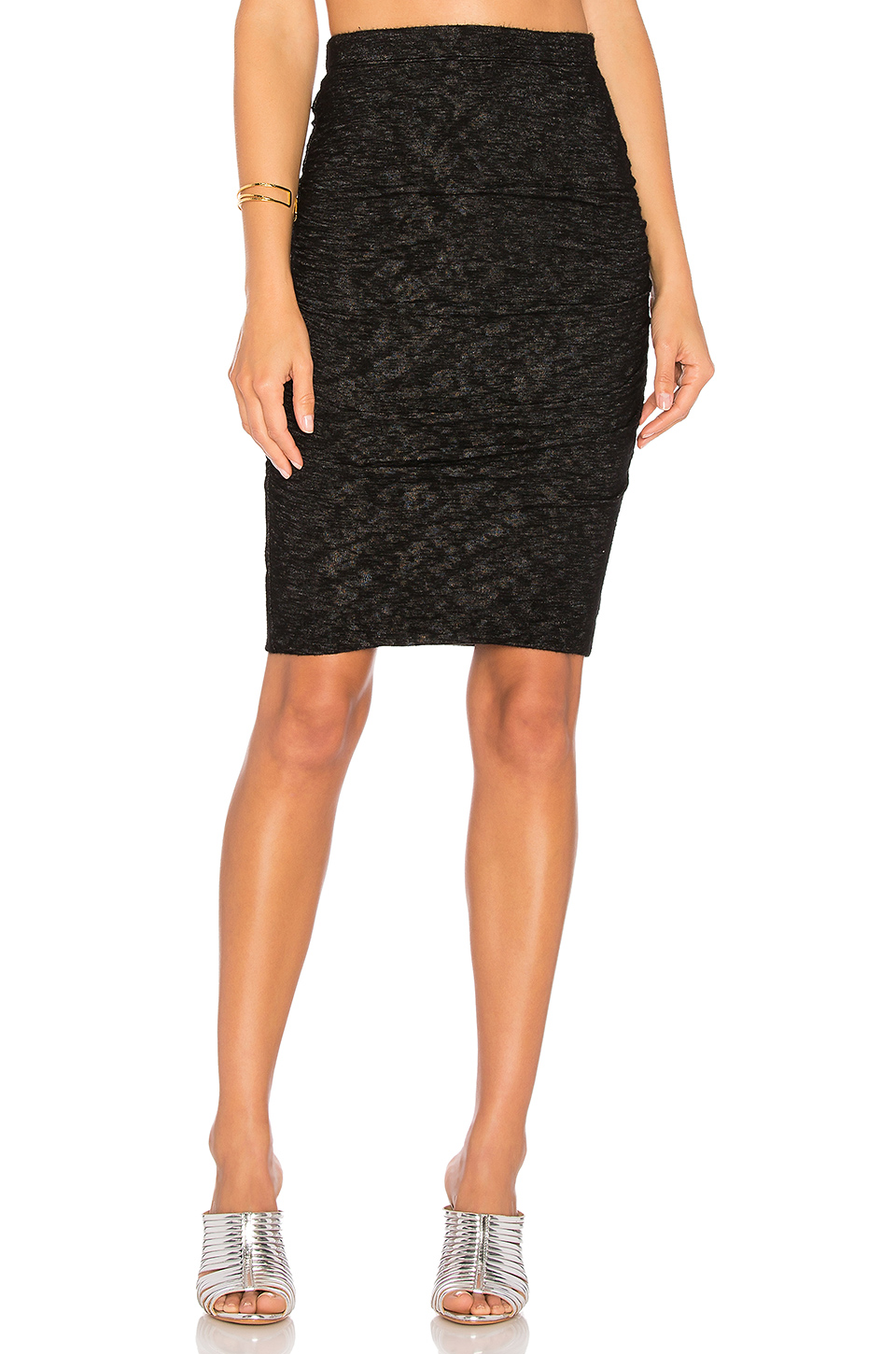 Velvet by Graham & Spencer Alva Skirt in Black