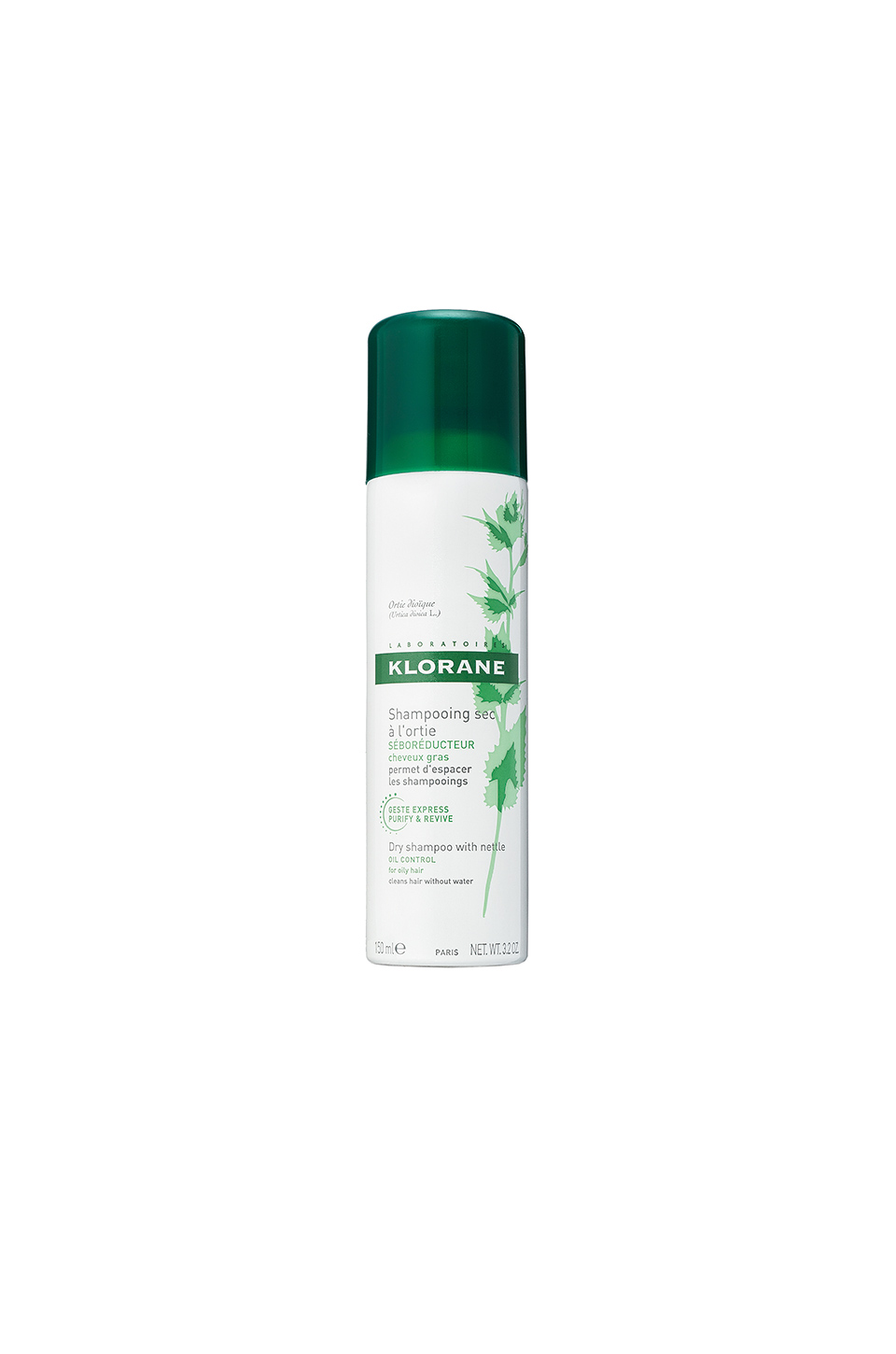 Klorane Dry Shampoo with Nettle in