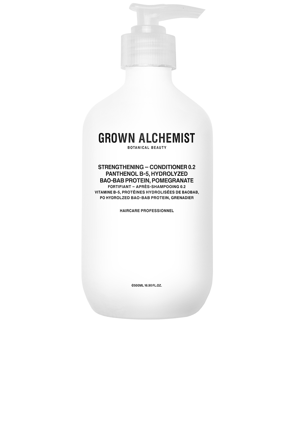 Grown Alchemist Strengthening Conditioner 0.2 in Panthenol B-5 & Hydrolyzed Bao-Bab Protein & Pomegranate