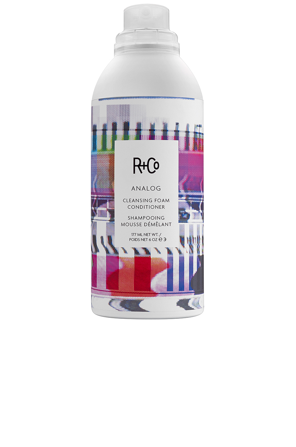 R+Co Analog Cleansing Foam Conditioner in