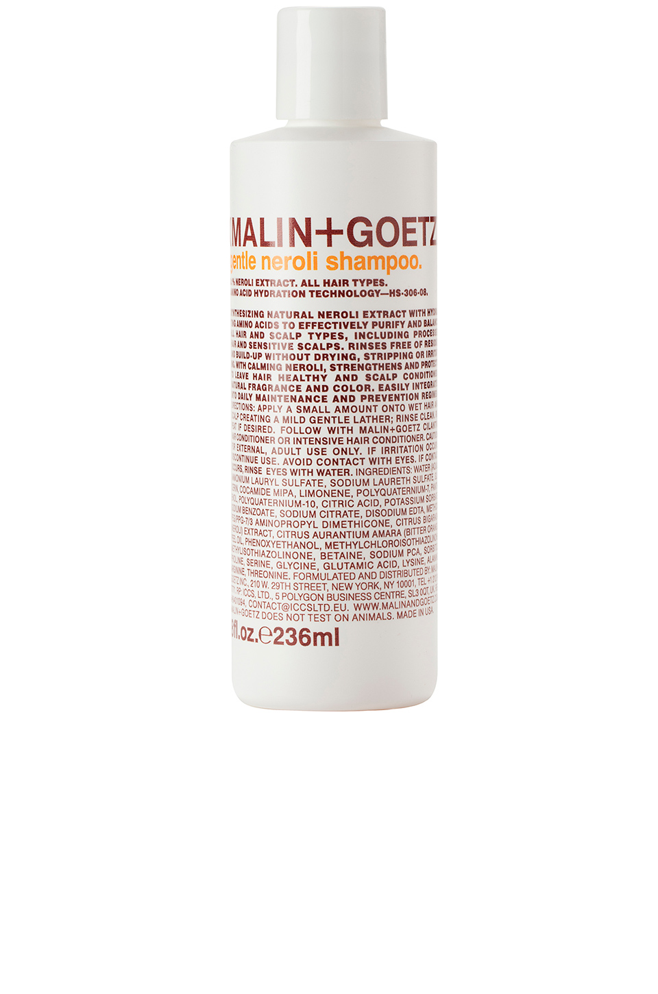 MALIN+GOETZ Gentle Neroli Shampoo in