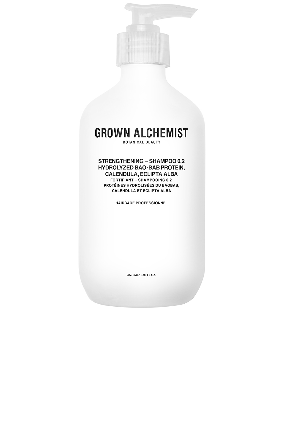 Grown Alchemist Strengthening Shampoo 0.2 in Hydrolyzed Bao-Bab Protein & Calendula & Eclipta Alba
