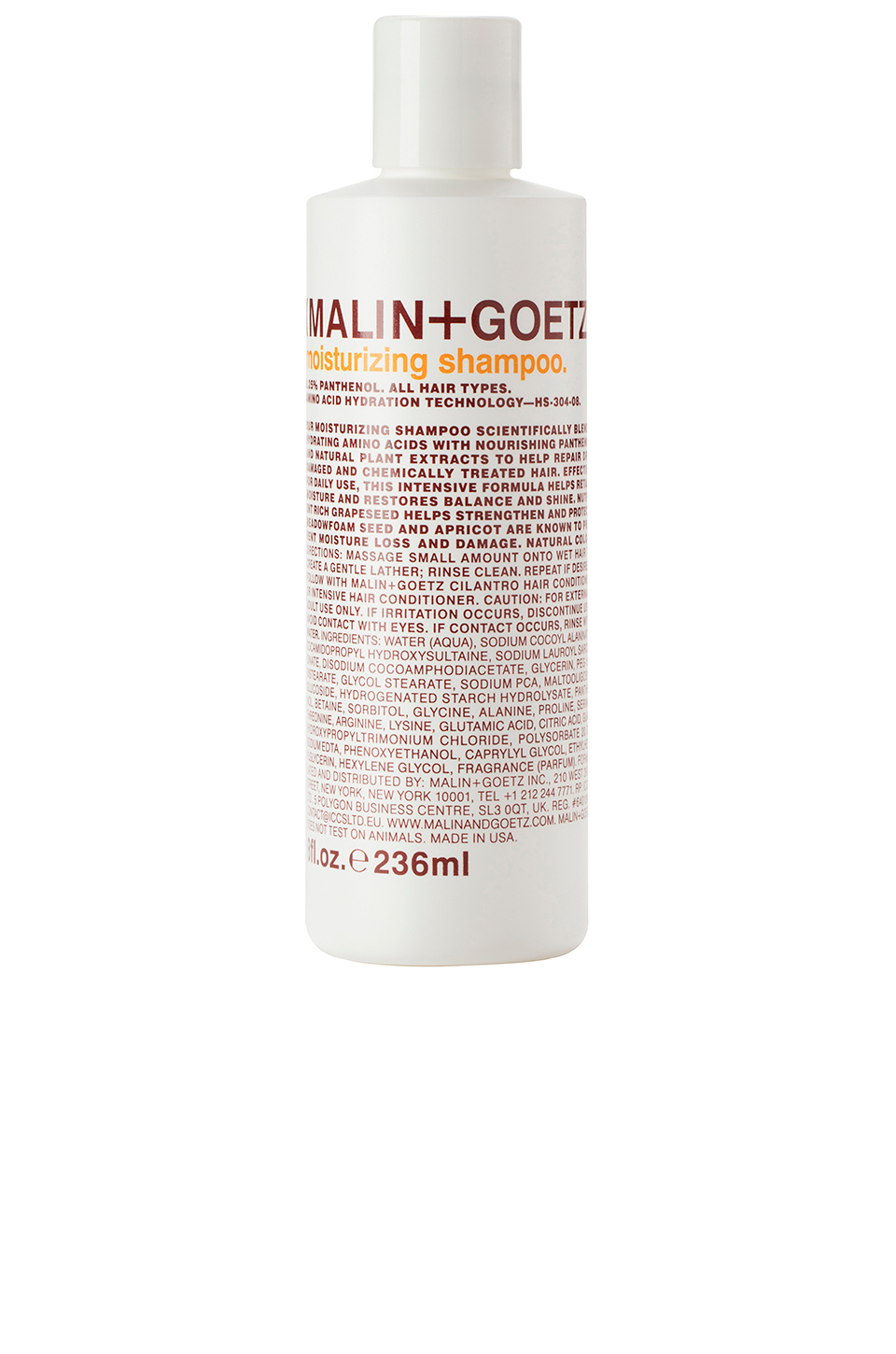 MALIN+GOETZ Moisturizing Shampoo in