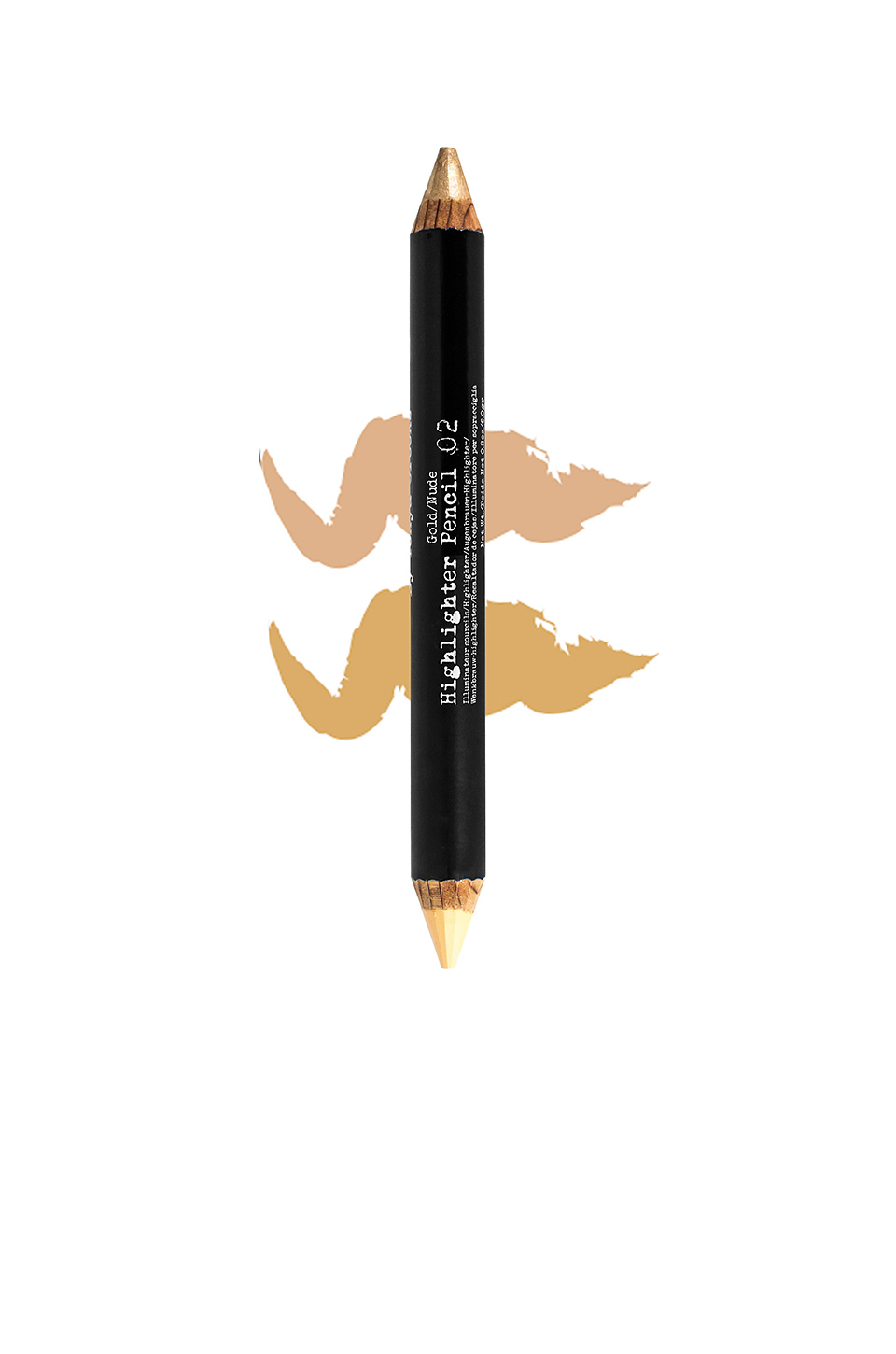 The Browgal Highlighter Pencil in Nude & Gold