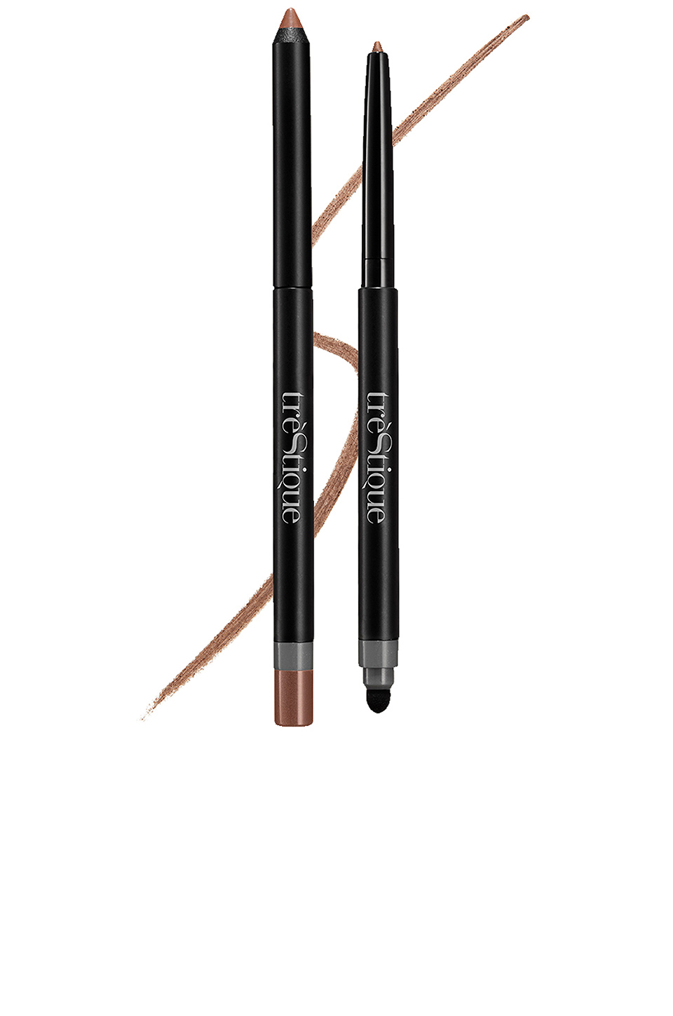 treStiQue Line, Sharpen & Smudge Eye Pencil in Roman Bronze