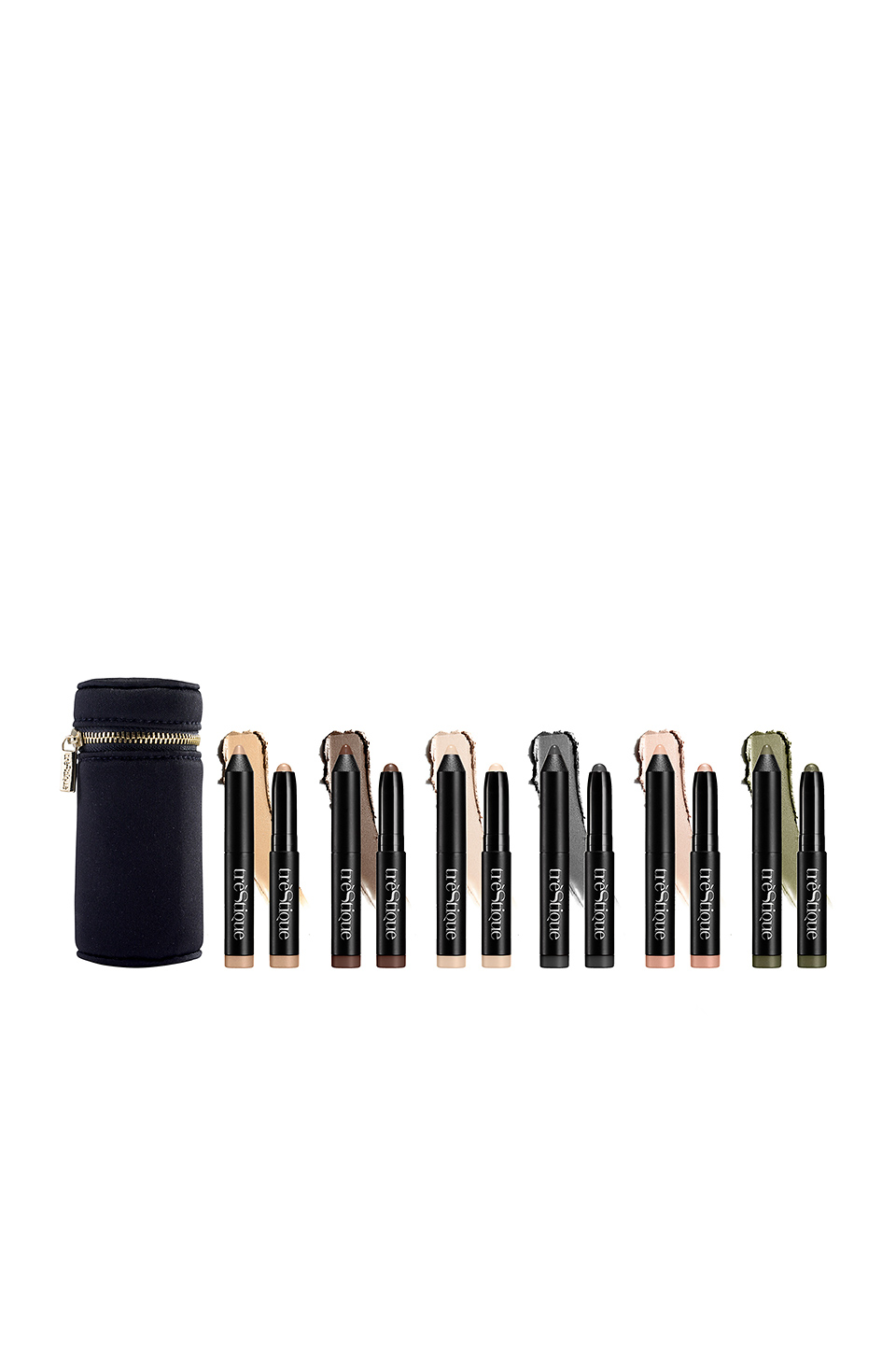 treStiQue Mini Shadow Crayon Set in