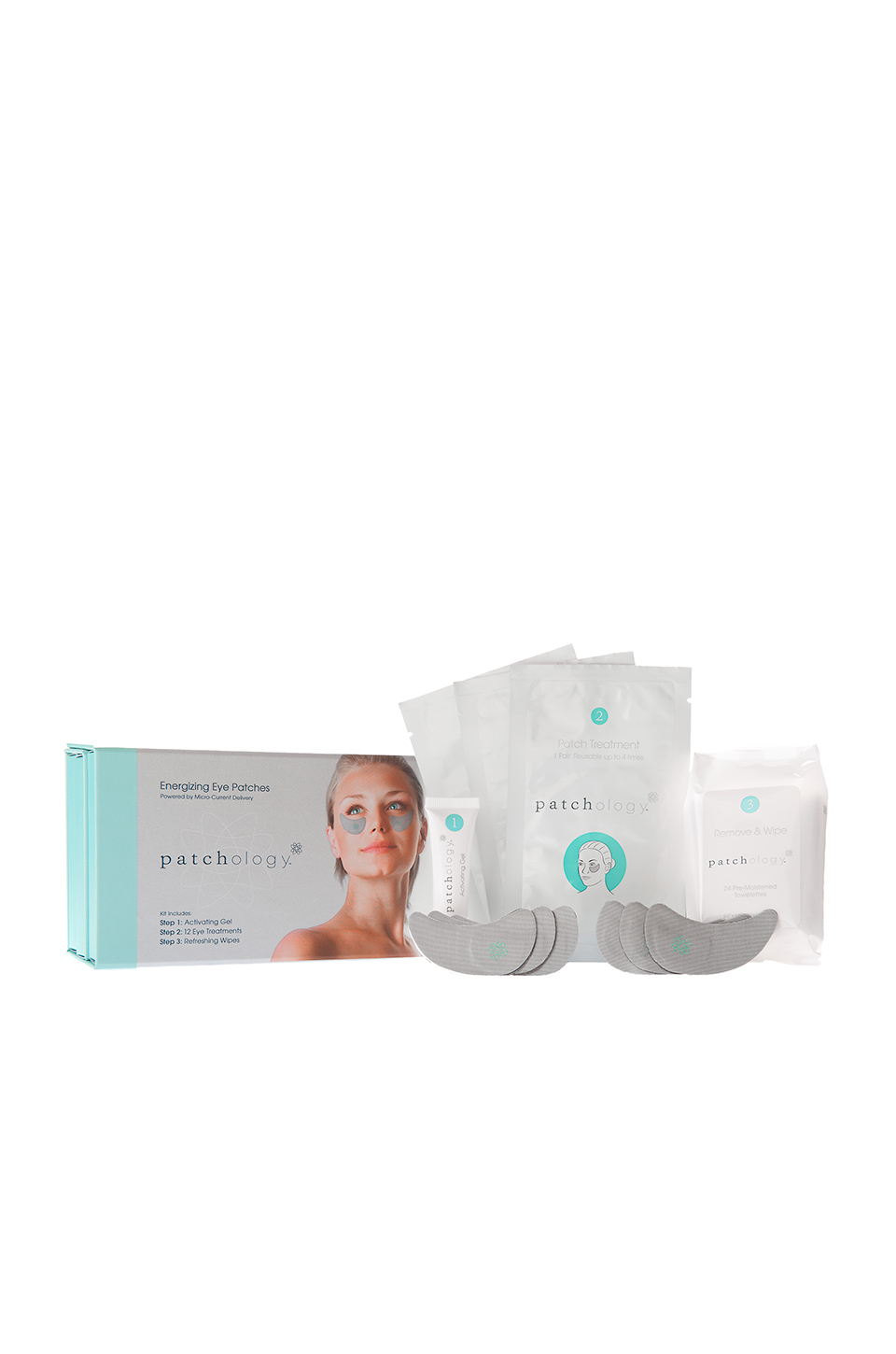 Patchology Energizing Eye Kit 12 Treatments in