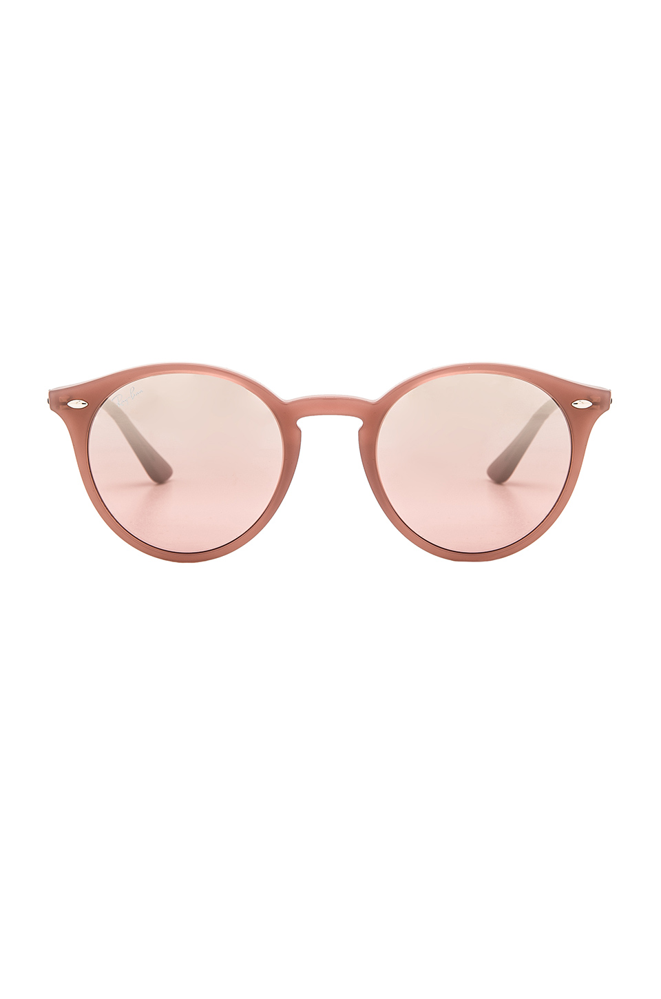 Ray-Ban Round Classic in Opal Antique Pink & Pink Mirror Silver Gradient