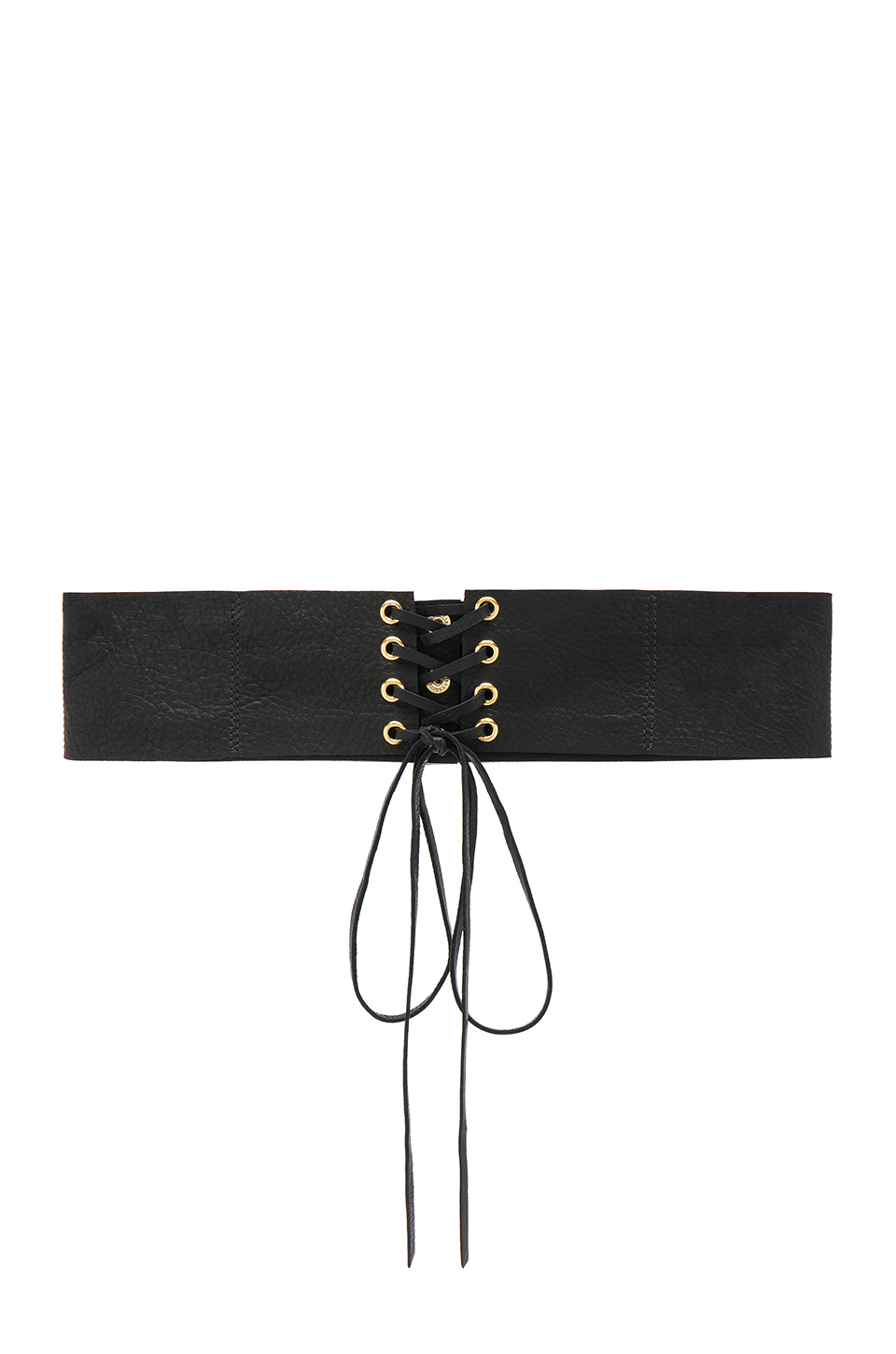 B-Low the Belt Eve Corset Belt in Black & Gold